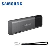 2018 New SAMSUNG USB Flash Drive 32gb 3.1 DB32 Metal Type C & USB A Memory Stick Cle usb Pendrive for smartphone tablet Computer|USB Flash Drives| |  -