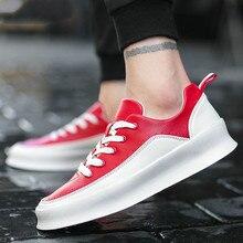 1792074056 QWEDF rua Hip hop homens moda casual sapatos de marca sneakers preto branco sapatos  de caminhada