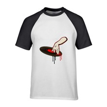Killer DJ blood scratch Vinyl Record / Turntable shirt