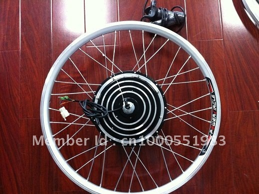 48V 1000W electric bike conversion kit rear wheel