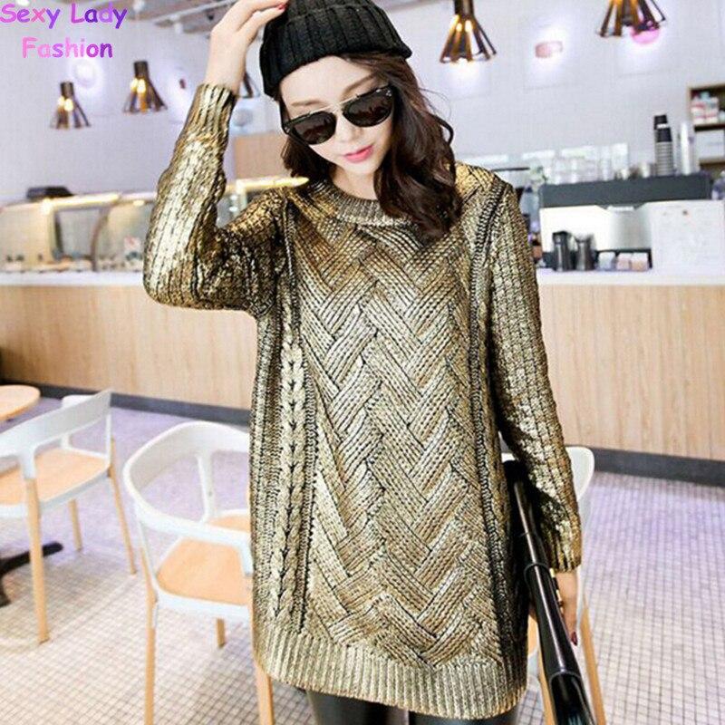 migliore a buon mercato 42d28 af70e Vintage abbronzante colore dorato mid cavo lungo maglione ...