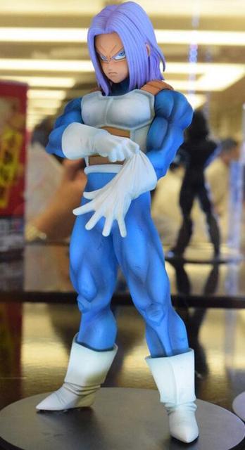 17 cm Dragon Ball Z Super Saiyan Trunks Figura Anime Ação PVC figuras Coleção brinquedos para presente de Natal