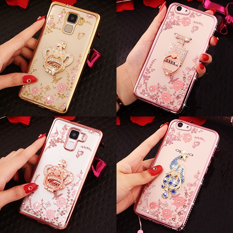 Diamond Garden Case for Galaxy S 5 6 7 edge S9 S8 plus A 3 5 7 J 3 5 7 Note 3 5 8 C9Pro  ...