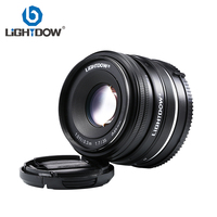 Lightdow 35mm F1.7 Manual Lens for Sony E Mount NEX 3 3N C3 5 5N 5R 5T 6 7 A6500 A6300 A6000 A5100 A5000 A3000 A3500