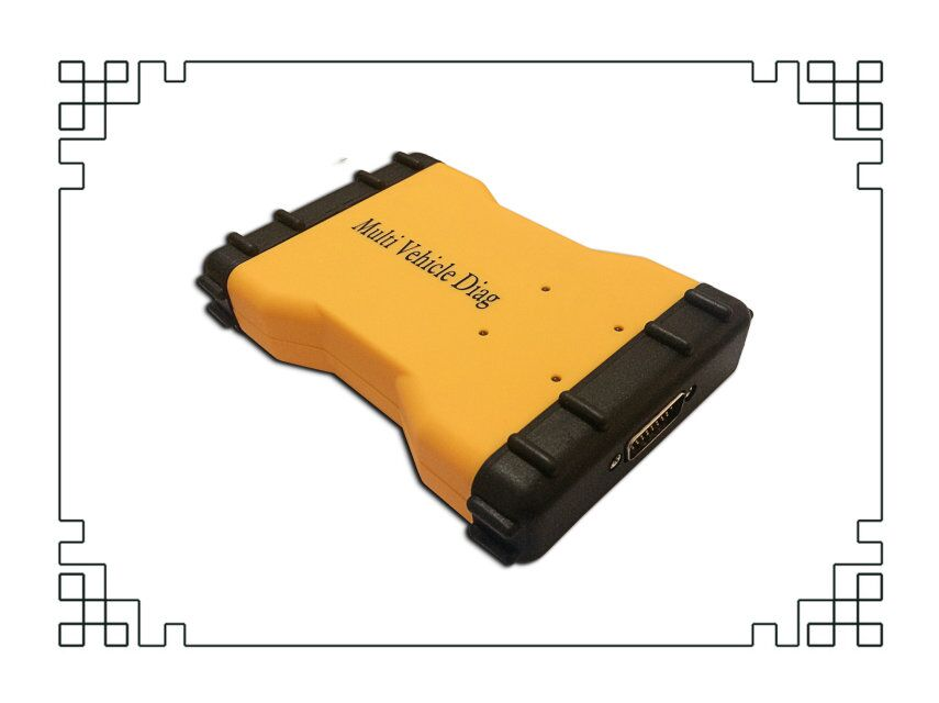 DHL!! Multi Vehicle Diag MVD 2015R3/2016R0 VD TCS CDP Pro LED 3IN1 Bluetooth + 8Pcs/Set Car Cables Connectors Diagnostic Tool - 6