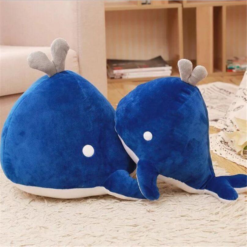 Blue Whale Toy  Plush Stuffed Animal Ocean Marine Mammal Gift For Children whale adventure