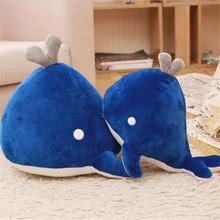 Blue Whale Toy  Plush Stuffed Animal Ocean Marine Mammal Gift For Children