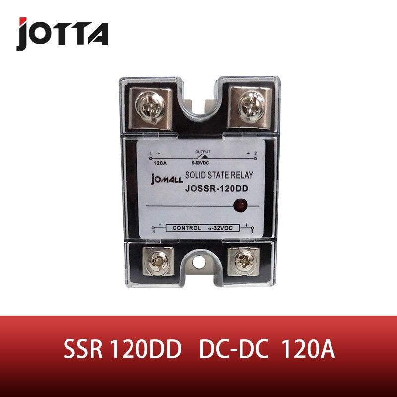 Ssr-120dd dc controle dc ssr 120a dd relé miniatura monofásico proteção relé de estado sólido