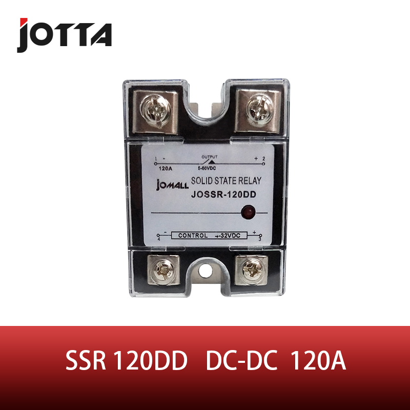 SSR -120DD DC контроль SSR 120a dd реле миниатюрное Однофазное защитное твердотельное реле