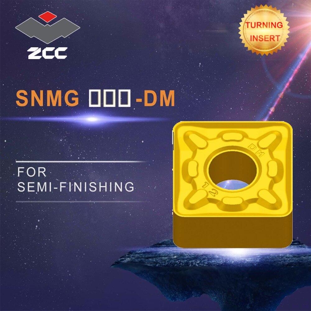 ZCC. CT cnc inserti 10 pz/lotto SNMG 120412 SNMG1204 DM tornio utensili da taglio rivestito carburo cementato inserti di tornitura di finitura in acciaioZCC. CT cnc inserti 10 pz/lotto SNMG 120412 SNMG1204 DM tornio utensili da taglio rivestito carburo cementato inserti di tornitura di finitura in acciaio