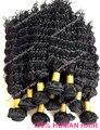 Высокое качество натуральный цвет китайской девы человеческая волна волос уток глубокая волна