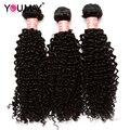 3B 3C Textura Brasileiro Kinky Curly Feixes de Cabelo Virgem Mongol Cabelo Encaracolado Kinky Barato Cabelo Virgem Encaracolado Kinky Mongol