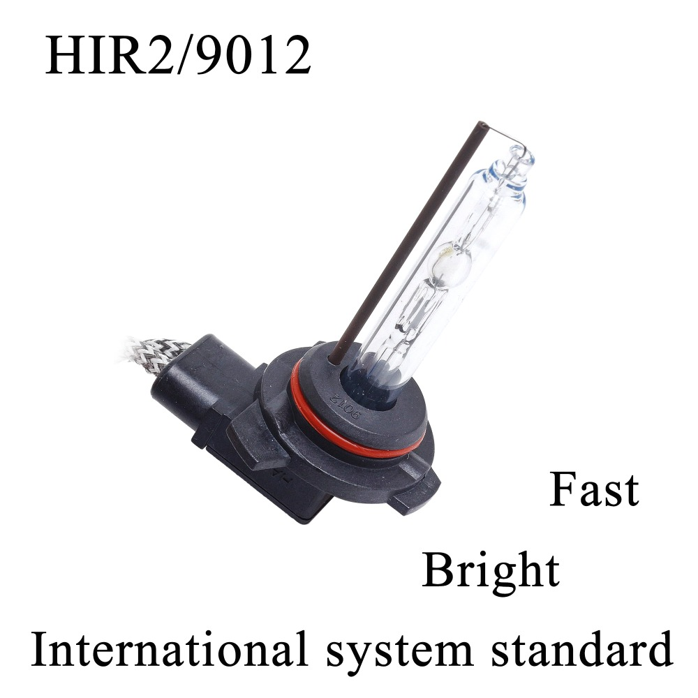 Free Shipping Original Super Brightness Fast Start 2 pcs 55W 9012 HIR2 HID Xenon Head Lamp Single Beam Replacement Car Bulbs
