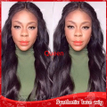 New body wavy hair brazilian synthetic full lace wig heat resistant lace front wigs with baby hair cheap wigs for black women