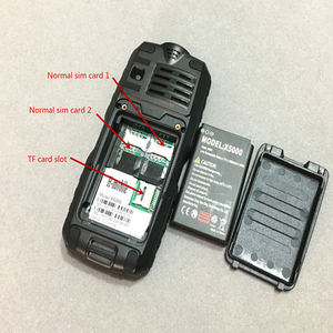 Image 5 - IP67 waterproof shockproof Cell Phones power bank cheap China mobile phone GSM FM Russian keyboard button PHONES H mobile