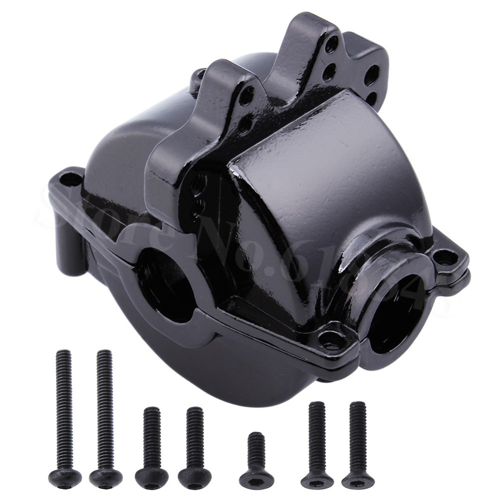 Aluminum Gear Box Differential Housing with Screws A949-12 For RC WLtoys 1/18 A949 A959 A969 A979 Model Car front diff gear differential gear for wltoys 12428 12423 1 12 rc car spare parts