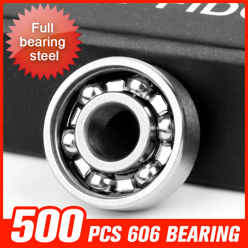 500pcs 606 Miniature Ball Bearing For Bluetooth Speaker Fidget Spinner Drift Board Inline Roller Hardware Tool Accessories 1000pcs 9 beads 688 bearing for waste incinerator machine fan motor skating roller board shaft hardware tool accessorie