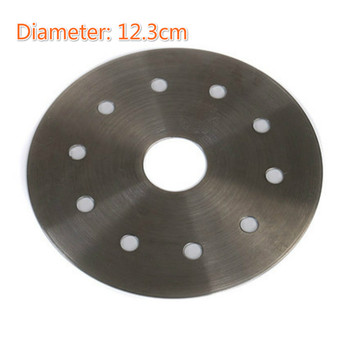 1pcs 12.3cm Induction Cooker Thermal Guide Plate,Induction Cooktop Converter Disk Stainless Steel Plate Cookware For Magnetic
