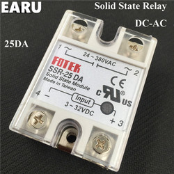1 pcs ssr 25da 25a 3 32v dc to 24 380v ac ssr 25da solid state.jpg 250x250