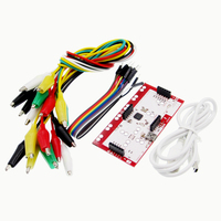DIY Makey Kit With USB Cable Alligator Clips Support Connect Everyday Objects To Computer Keys For