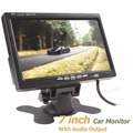 Hot 800x480 7 Polegada Cor da Tela TFT LCD Car Rear View Monitor com Saída de Áudio