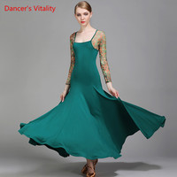 757da92c7ebe1a 2017Standard Ballroom Dress Standard Dresses Ballroom Dance Dress Flamenco  Dance Costumes Ballroom Practice Dress Dance Wear