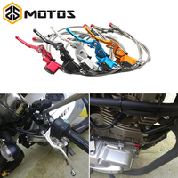 ZS MOTOS Motorcycle Hydraulic Brake Clutch Lever Master Cylinder 1200mm Pit Bike For 7/8'' Handlebar For 125 250cc Engine