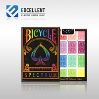 [EPCS poker] Spectrum Deck Bicycle rainbow bicycle playing cards Magic DecK Props