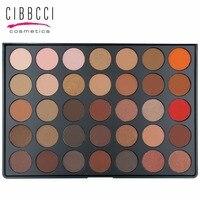 35 Màu Phấn Mắt Palette Trái Đất Màu Ấm Shimmer Matte Eye Shadow Mỹ Phẩm Beauty Trang Điểm Set Eye Make Up # 35B