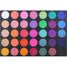 35 Color Eyeshadow Palette Silky Powder Professional Make up Pallete Product Cosmetics Smoky/Warm Makeup Eye Shadow 35E