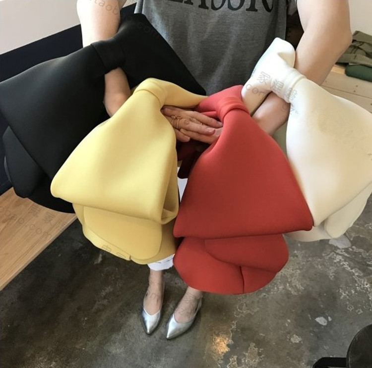 bowknot bolsa senhoras mini saco de viagem