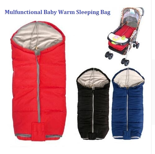 Envelope style Baby stroller cushion Infant sleeping bag baby sleeping sacks Buggy warm foot cover Baby Foot muff