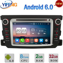 7″ Android 6.0 Octa Core 2GB RAM 32GB ROM 3G/4G WIFI Car DVD Radio Stereo GPS Player For Mercedes-Benz Smart Fortwo 2011-2014