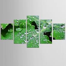 Framed 5 Panels Canvas Print Painting landscape art prints Modern Wall Art for Picture Home Decor Artwork-QJFJ/1070