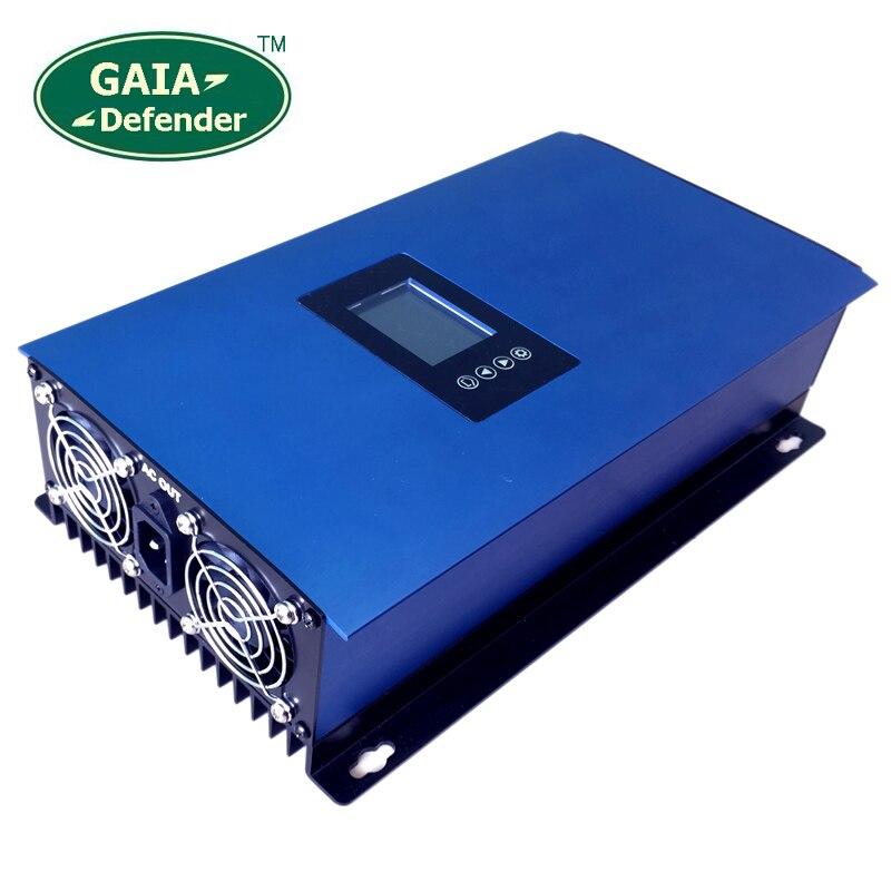 1000 w Vento Power Grid Tie Inverter con Regolatore di Carico del Deposito/Resistenza per 3 Phase 24 v 48 v AC DC generatore di turbina del vento