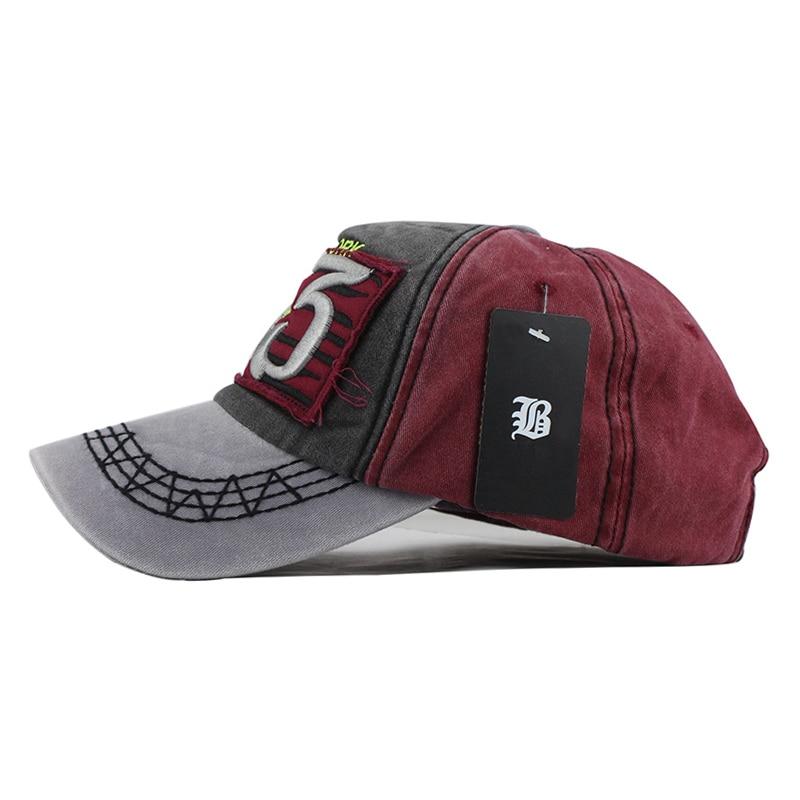 [FLB] Yeni Pamuk Beyzbol Şapkası Koşu Monte Mektubu Spnapback Yaz - Elbise aksesuarları - Fotoğraf 4