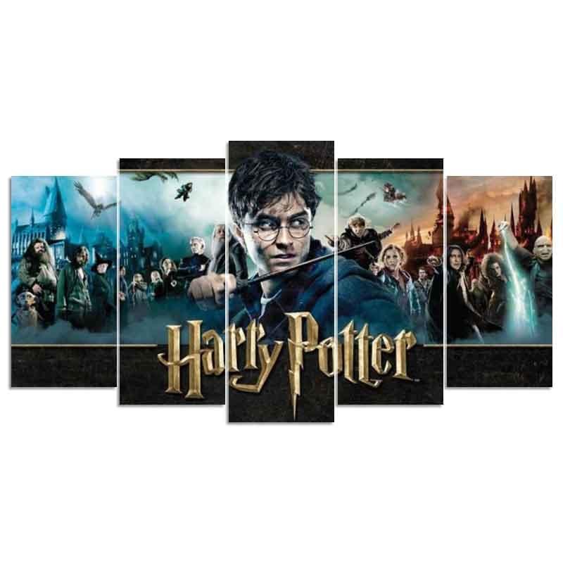5d fai da te Diamante ricamo Harry Potter diamante pittura a Punto Croce Rhinestone pieno trapano piazza decorazione a mosaico