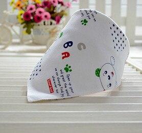 Pure Cotton Handkerchief Baby Cotton Saliva Towel Bib Baby Towel Color Random Children Handkerchief Pocket  Hanky Toallas