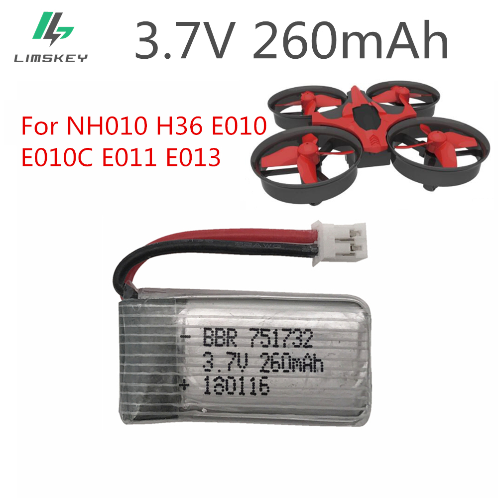 Jjrc H36 Nh010 Eachine E010 E010c Rc Quadcopter Spare Parts Flight Com Buy H12c Receiver Receiving Circuit Board 2pcs 37v 260mah For E011 E013 Mini