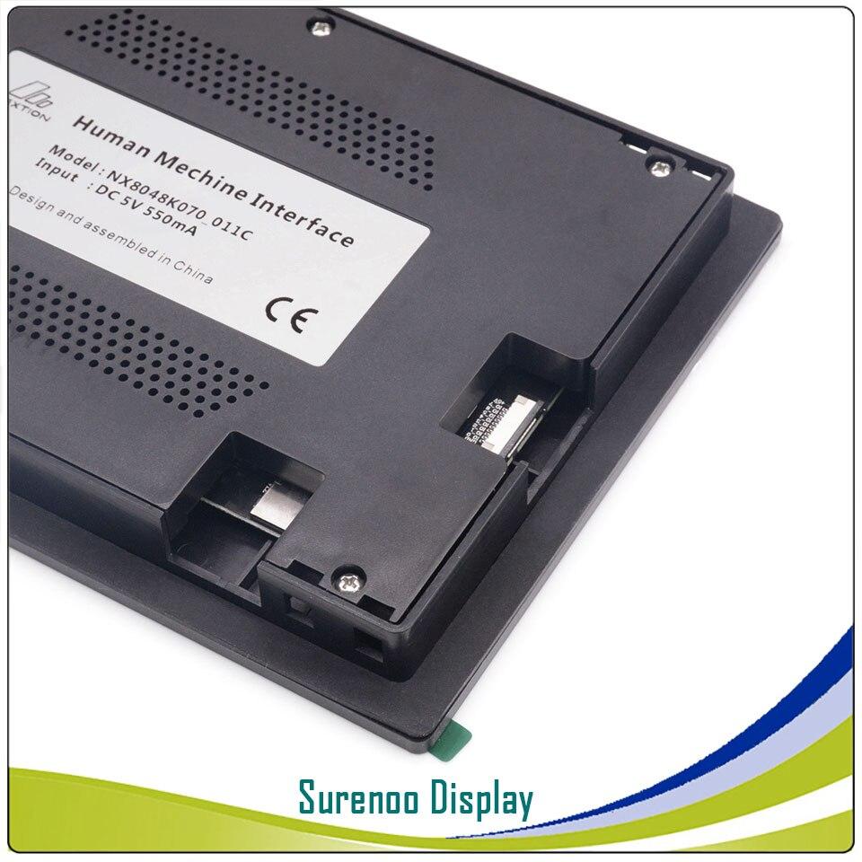 7,0 Nextion Enhanced HMI USART серийный TFT lcd модуль Дисплей резистивная емкостная сенсорная панель с корпусом для Arduino RPI - 5