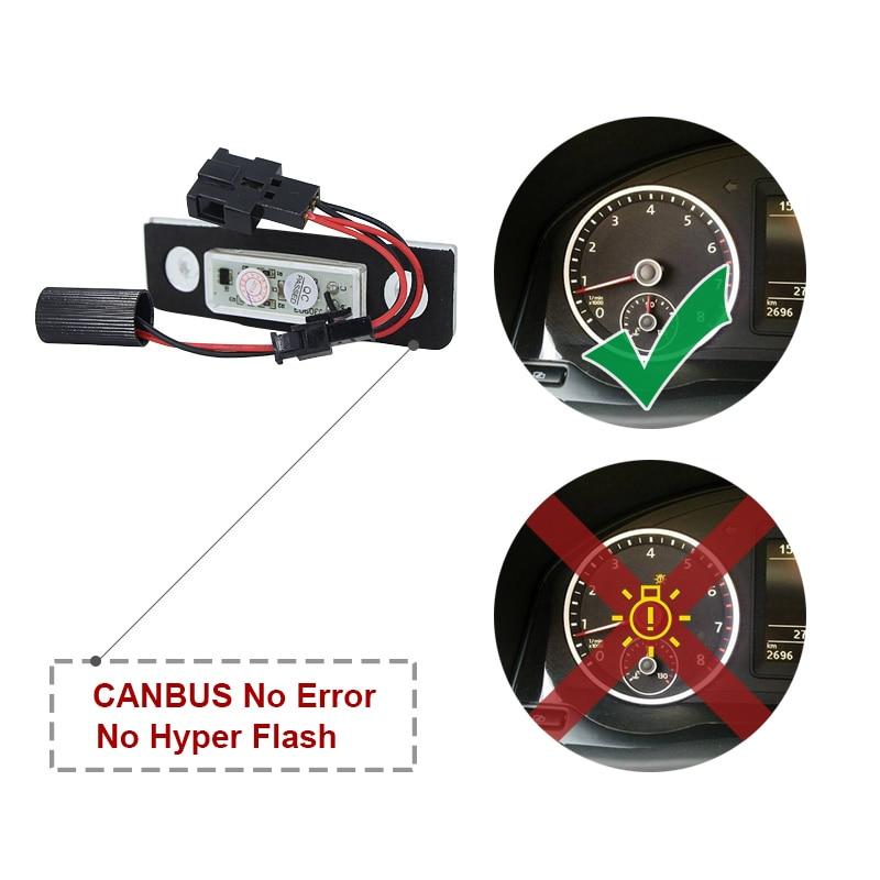 lampada de freio de estacionamento canbus ba15s bau15s t20 7443 02