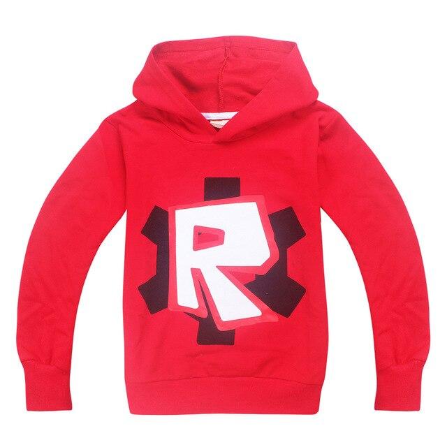 roblox fortn Minecraft Autumn My World Cartoon Long Sleeve T-shirt Boys Girls gta 5 coat gta 5 Tops Sweatshirts coat hoodies 4