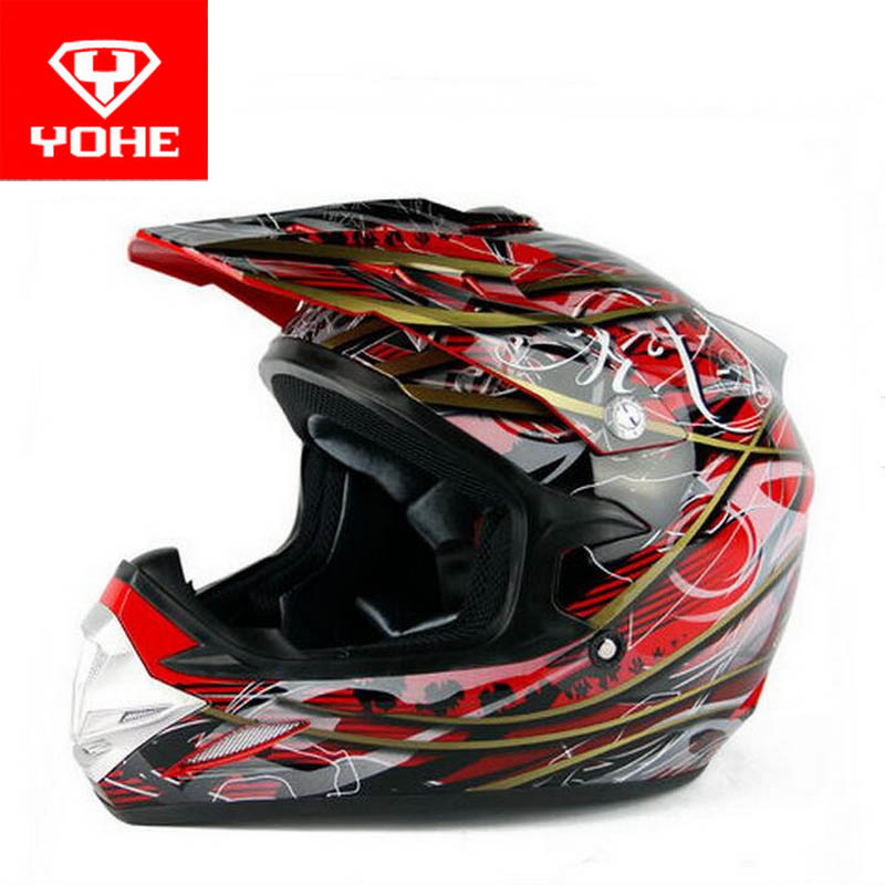 2017 Summer New YOHE OFF Road motorcycle helmet YH-623 Motocross motorbike helmets made of ABS with AFS AIR FLOW SYSTEM 2017 new ece certification ls2 motocross motorcycle helmet ff352 full face motorbike helmets made of abs and pc silver decadent