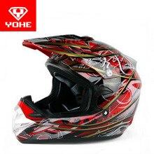 2017, лето, новый yohe бездорожью мотоциклетный шлем yh-623 мотокросс мотоциклетные шлемы, изготовленные из abs с afs системы воздушного потока