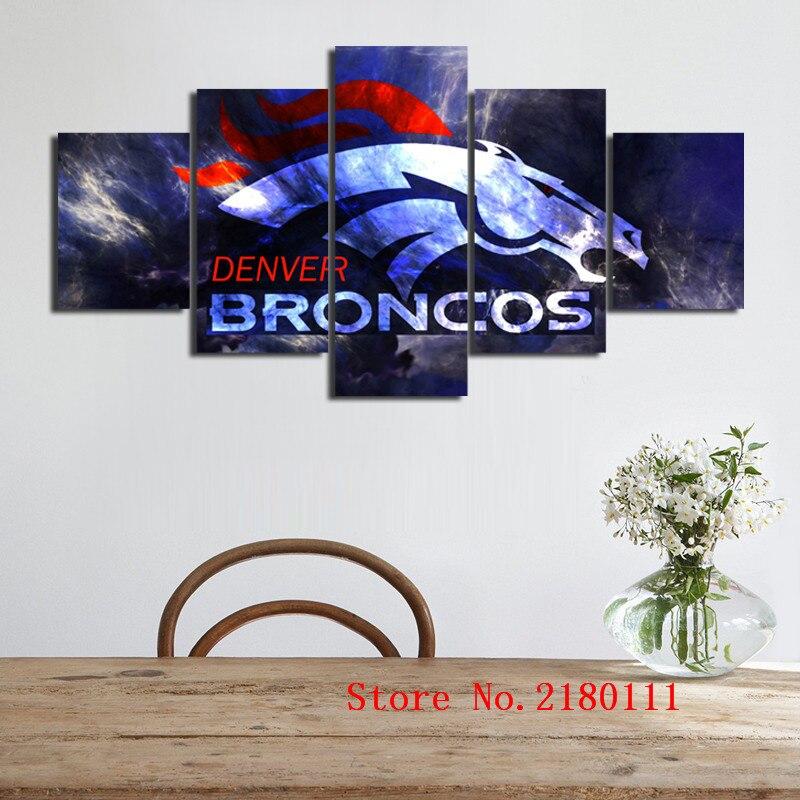 Imágenes de la pared de atfipan para la sala de Denver Broncos ...