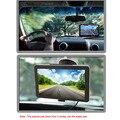 """CN FOLGA 7 """"Tela HD portátil GPS Navigator 4 GB ROM FM MP3 Reprodução de Vídeo Do Carro Sistema de Entretenimento com o Apoio de Volta + Livre mapa"""