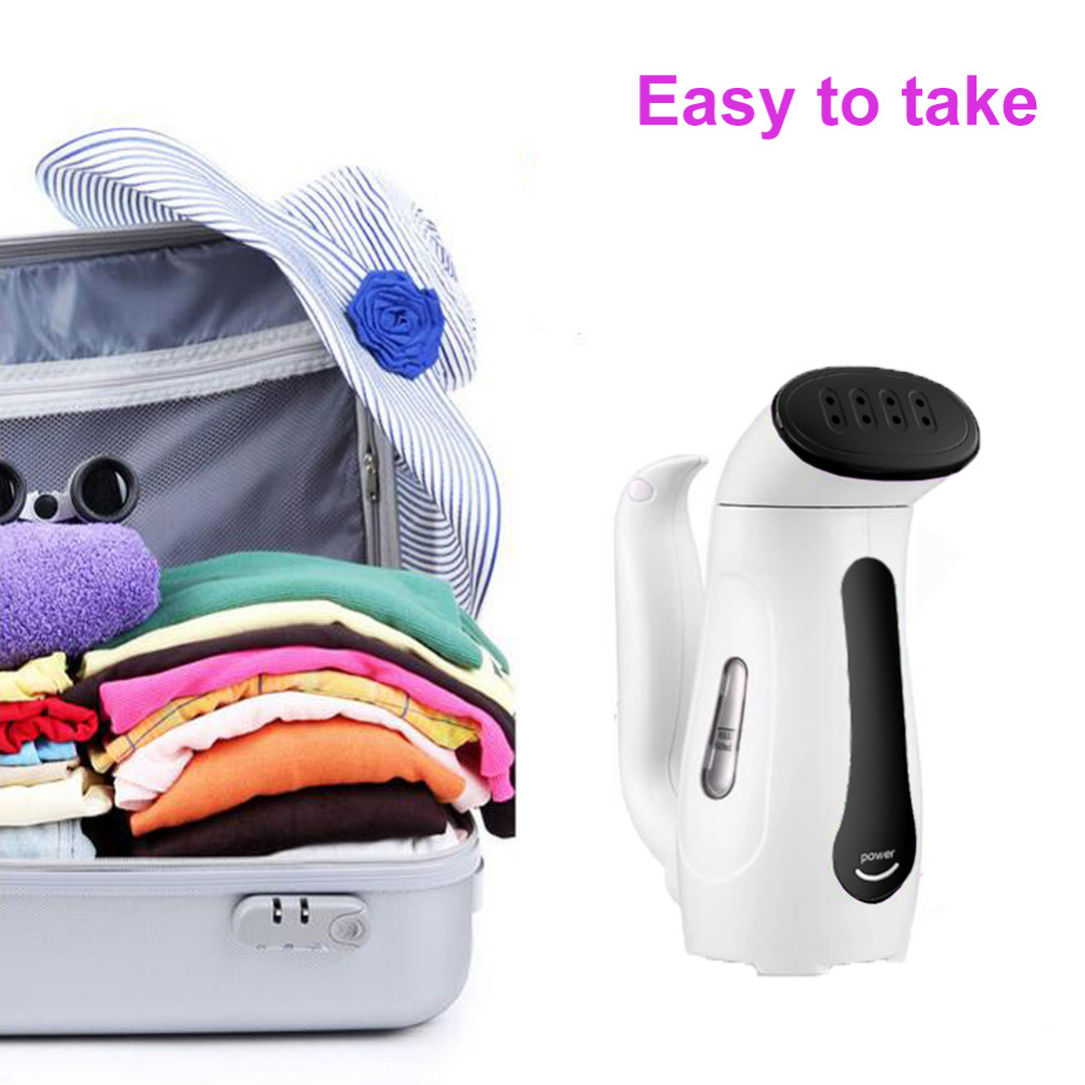 Smad 110V/240V Portable Handheld Mini Garment Steamer for Home 250W-265W Electric Traveling Vapor Cloths Iron Steam White