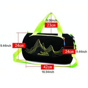 Image 3 - 2019 Swimming Bag Dry & Wet Separation Sports Bag for Travelling and Swimming Waterproof Swimming Handbag Training Shouler Bags