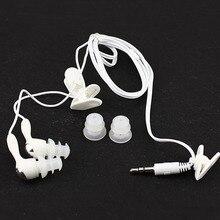The new stereo waterproof earbud Earphone In-ear earphone Swimming sport earplugs for  mp3 mp4 most smart cell phone