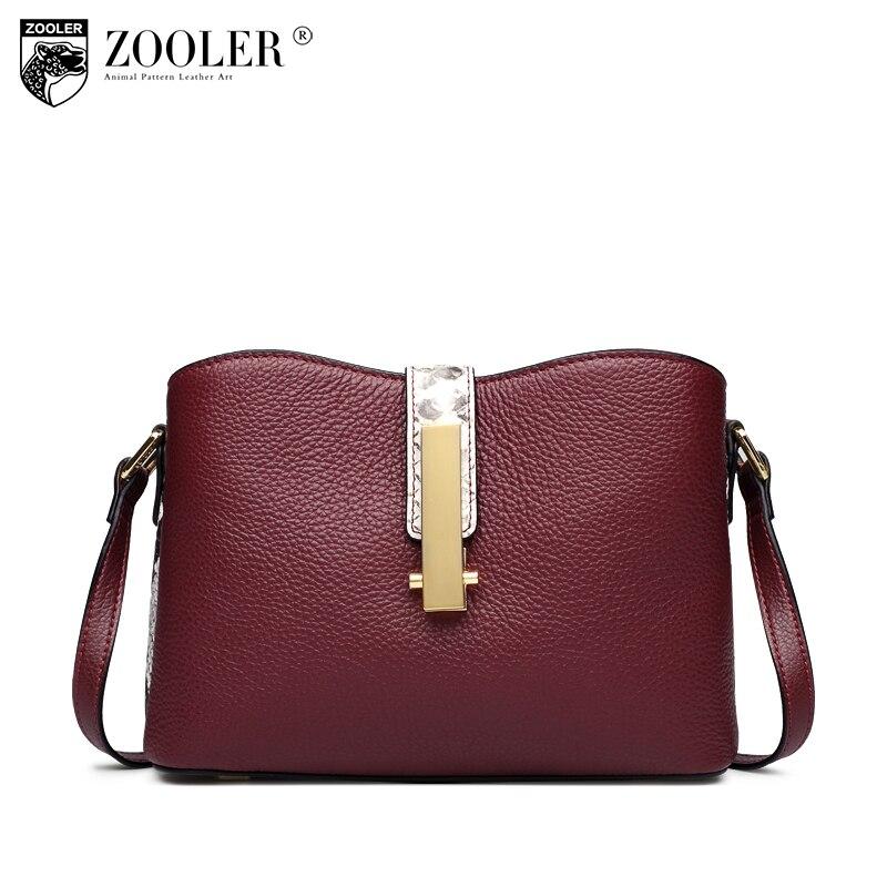 11-11 new woman shoulder bag ZOOLER 2018 Genuine leather bag woman cross body bags fashion ladies woman  messenger bags#h151 11 11 11